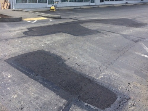 Asphalt patching service in Gig Harbor