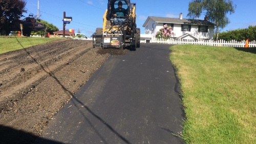 Recycling asphalt in Gig Harbor, WA