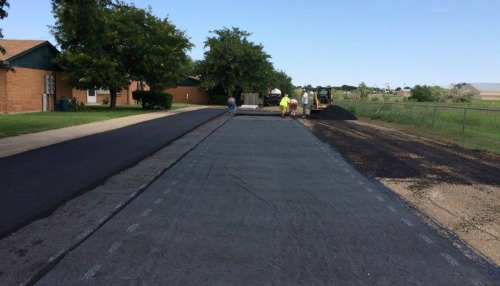 Pavement underlayment process